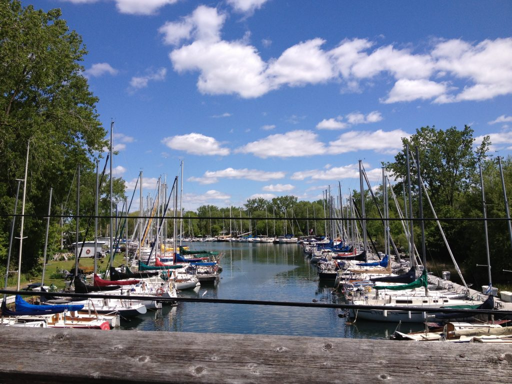 Harbour at the Toronto Islands
