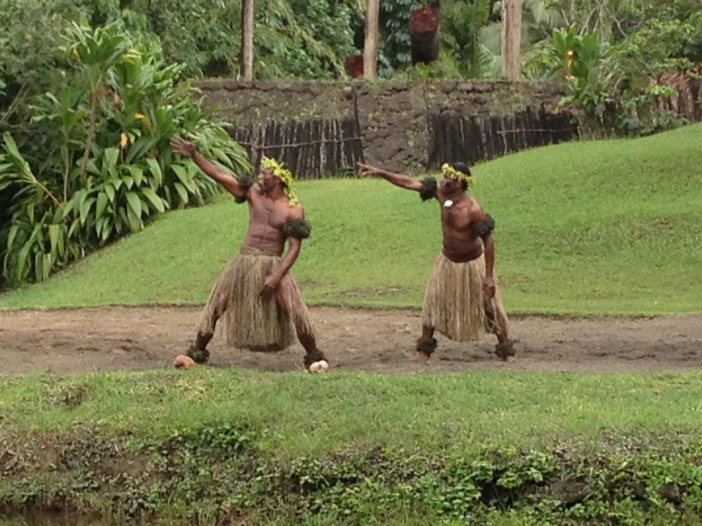 Traditional Meke dance