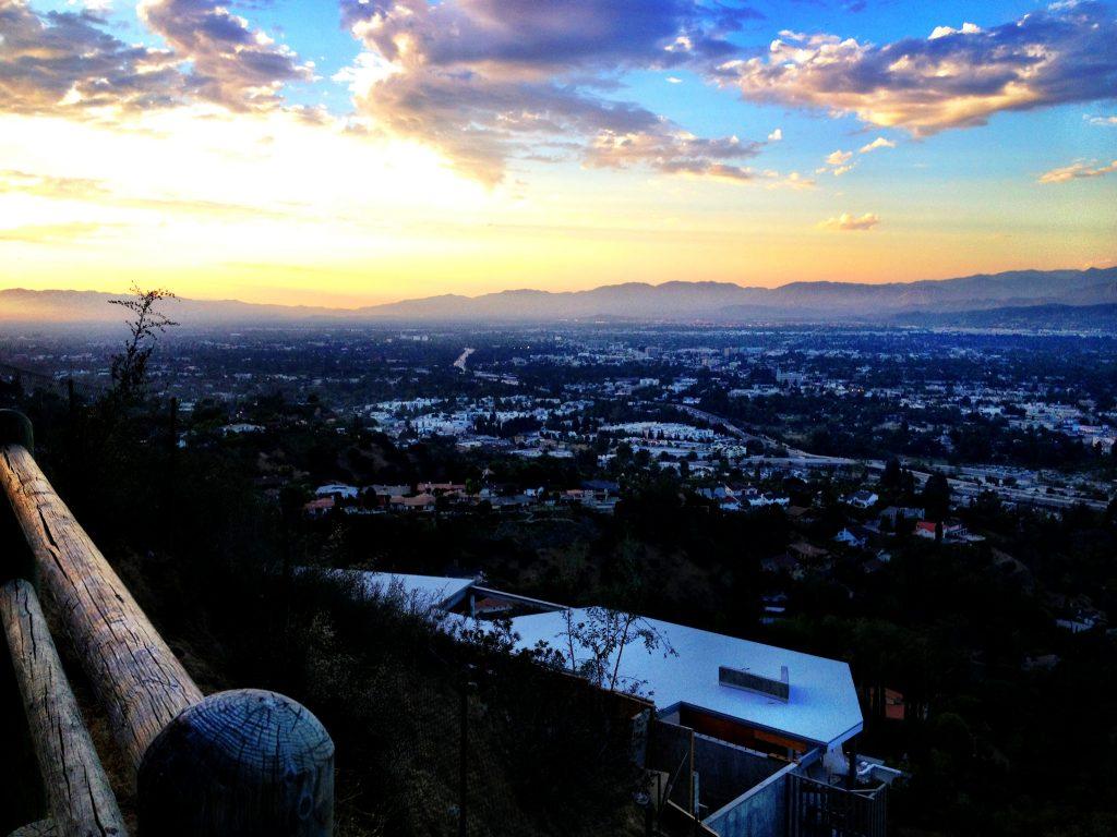 Mulholland Drive - Los Angeles, California
