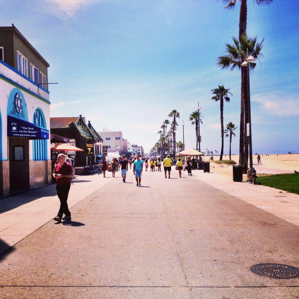 Venice boardwalk - Venice, California