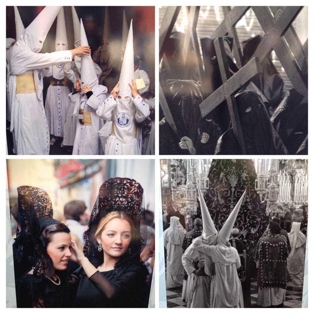 Professional shots of past Semana Santa celebrations in Sevilla, courtesy of Sevilla tourism