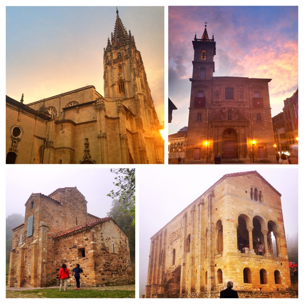 I went a little church-crazy in Oviedo.