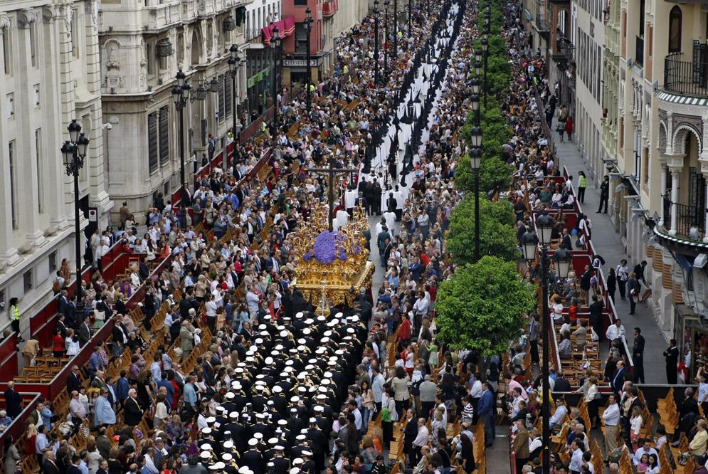 Semana Santa processions in Sevilla