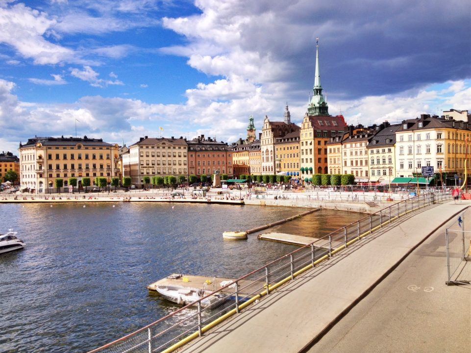 A picture of Stockholm because...Stockholm